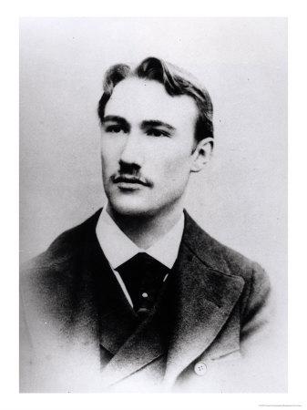 Retrato de André Gide en 1891-1892
