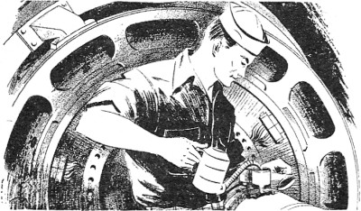 ilustración procedente de 'Electricity : Basic Navy Training Courses' (1945)