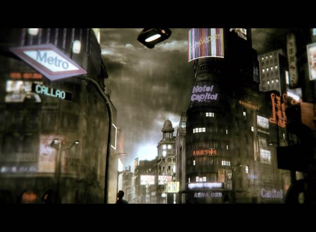 escenario virtual del corto español 'Cíclope', de Carlos Morett [ignotoplanet]